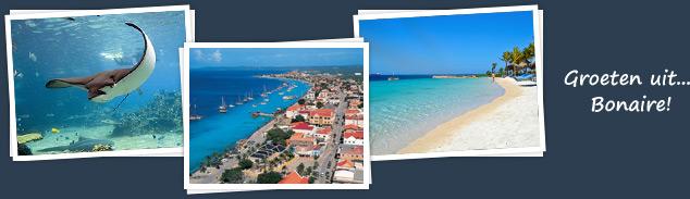 groeten uit Bonaire